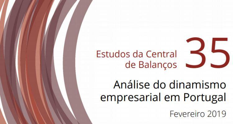 Análise do dinamismo empresarial em Portugal